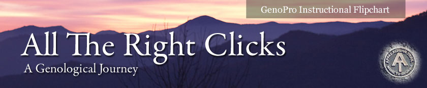 All the Right Clicks - A Genological Journey